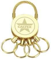 """GGK-006 Spider Round Detachable Key Holder w/Wire 2-1/2"""" x 1"""""""