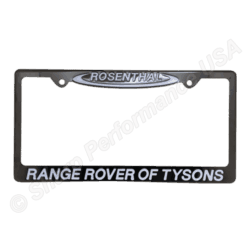 Custom Gun Metal Stainless Steel License Plate Frames