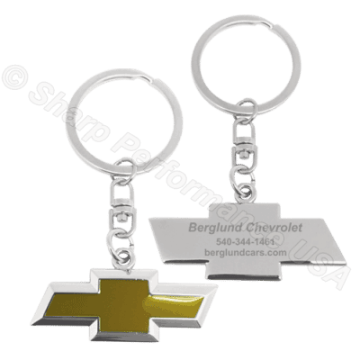 K001CH Custom Chevrolet Dealer Promotional Key Chains