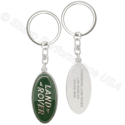 K001LR Custom LR Dealer Promotional Key Chains