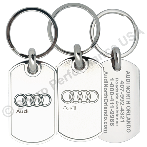 K0025 - Custom High Quality Die Struck Dog-tag Key tag