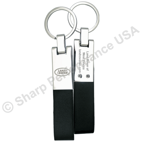 Item# K0288, leather key chain, custom logo keychain