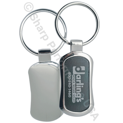 Item# K0342, Custom Keychain, custom key tags, company logo keychain, custom metal keychain