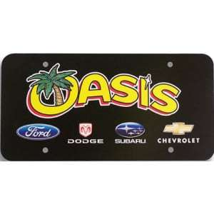 Plastic License Plate Card Inserts, Thin Plastic License Plate Card Inserts, dealer inserts