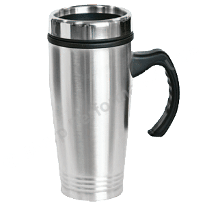 Stainless Steel Travel Mug, promotional travel mug, laser engraved travel mug