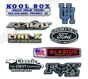 Custom Plastic Trunk Emblems | Sharp Performance USA Inc