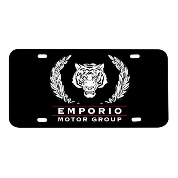 Plastic License Plate Insert Cards (Heavy Duty Thin) 0.045mil, 0.060mil