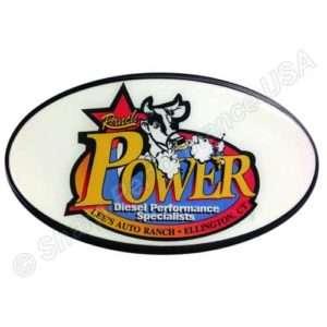 Plastic Trailer Hitch Cover, custom hitch cover, corporate logo hitch cover