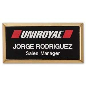 Custom Engraved Name Badges  Let your customers know who they are talking to