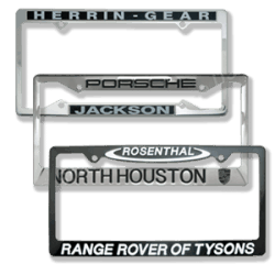Metal License Plate Frames
