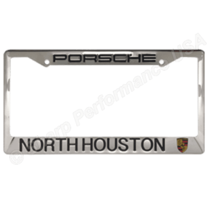 dealer stainless steel plate frame custom stamped shiny finish stainless steel metal license