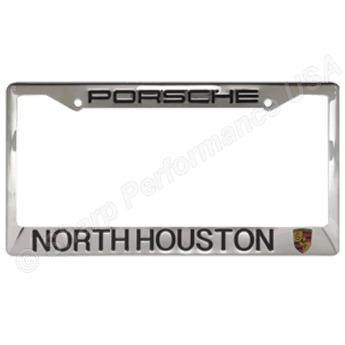 Dealer Stainless steel plate frame, metal license plate frames, license plate frames, on car advertising products