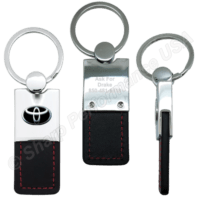 K0206, Wholesale Rectangular Key Chain, custom keychains, unique keychains, leather keychains, custom logo keychains, Custom leather key tags