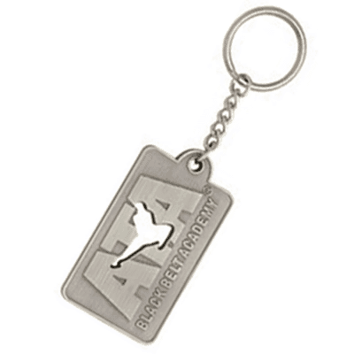 Custom Shape Stamped Die Cast Zinc Key Tags