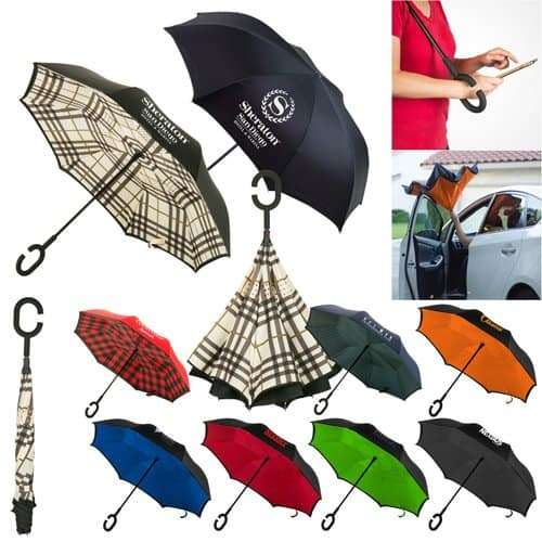 Promotional Reversible Umbrella